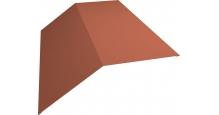 Коньки для кровли из металлочерепицы в Курске Планка конька 190х190