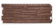 Фасадные панели для наружной отделки дома (сайдинг) Рельефная в Курске Фасадные панели Альта-Профиль