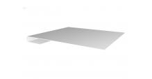 Металлические доборные элементы для фасада в Курске Планка завершающая простая 65мм