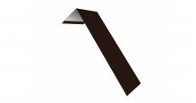 Металлические доборные элементы для фасада в Курске Планка лобовая/околооконная простая 190х50